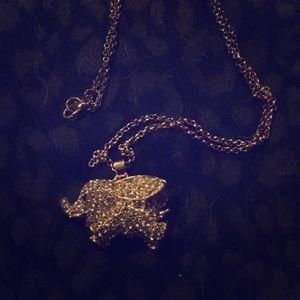 Jewelry - NWOT Baby Elephant Sweater Necklace!